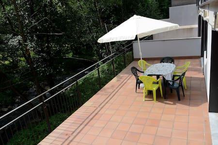 Terraza 35 m2. Grandes vistas - Ribes de Freser