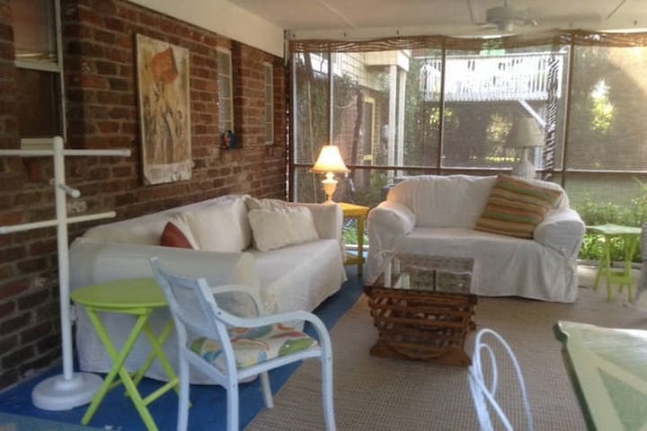 Cozy beachy cottage close to ocean - Tybee Island - Apartment