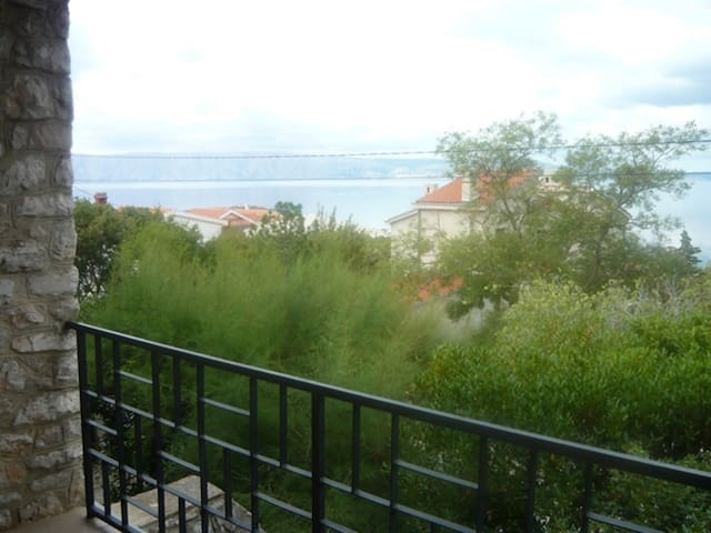 Beautiful big apartment with the view - Klenovica - Apartment