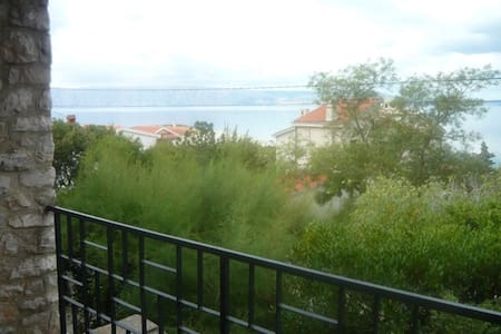 Beautiful big apartment with the view - Klenovica