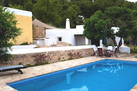 Typical Ibiza's villa, great view - sant josep - Vila