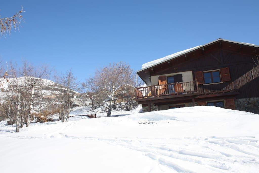Chalet in Alpe d`Huez, on slopes