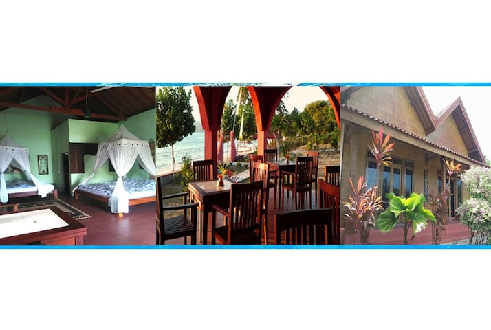 Gili Gede-Affordable Tropical Island Bungalow (F3)