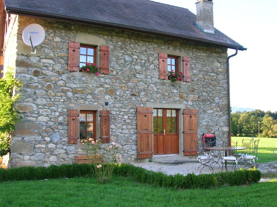 Maison entre gen ve annecy chamonix maisons louer for Annecy location maison