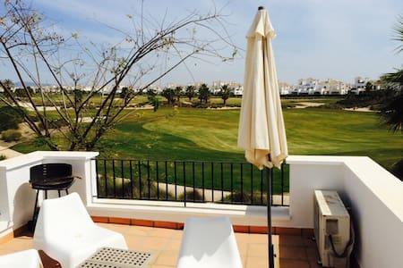 Habitación doble con dos camas en estupendo resort - Torre-Pacheco - House