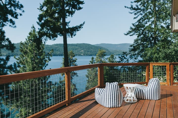 The Apex House on Lake Pend Oreille