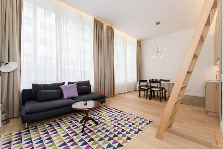 Exclusive flat in Östermalm
