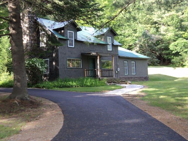 Brant Lake Adirondack Cabin - Brant Lake - Casa de campo