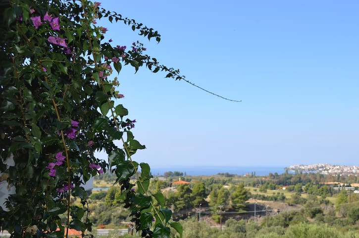 Villa Calliope amazing sea view - Νέος Μαρμαράς - Villa