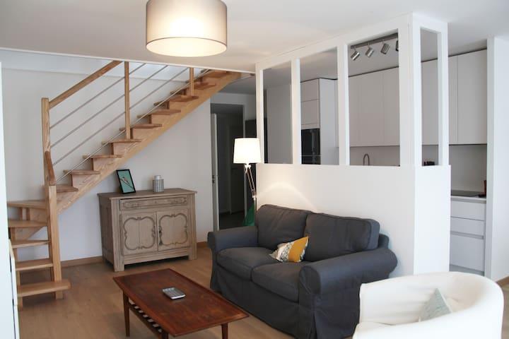 Appartement duplex tout confort - Pouliguen centre