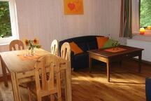 Ruhige Wohnung auf dem Bauernhof