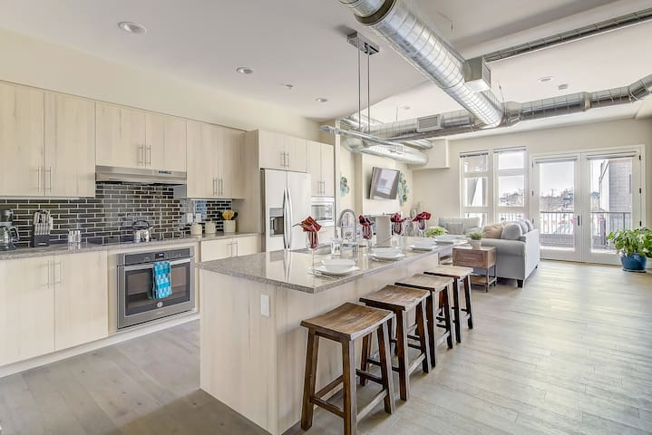 Modern Rustic Oasis in RiNo District! Sleeps 6!