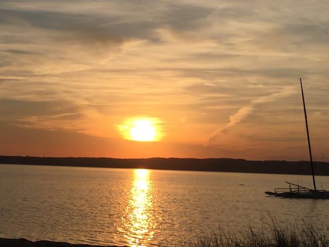 Sun rise & sunsets , Long Lake