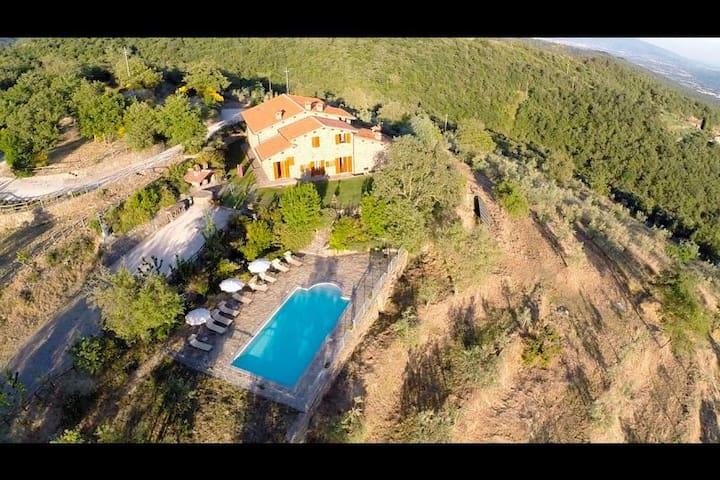 NIBBIO - Castiglion Fibocchi - Apartment