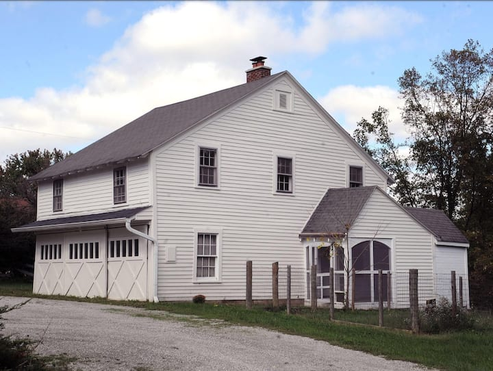 Historic 8 acre Property- Private Guest House