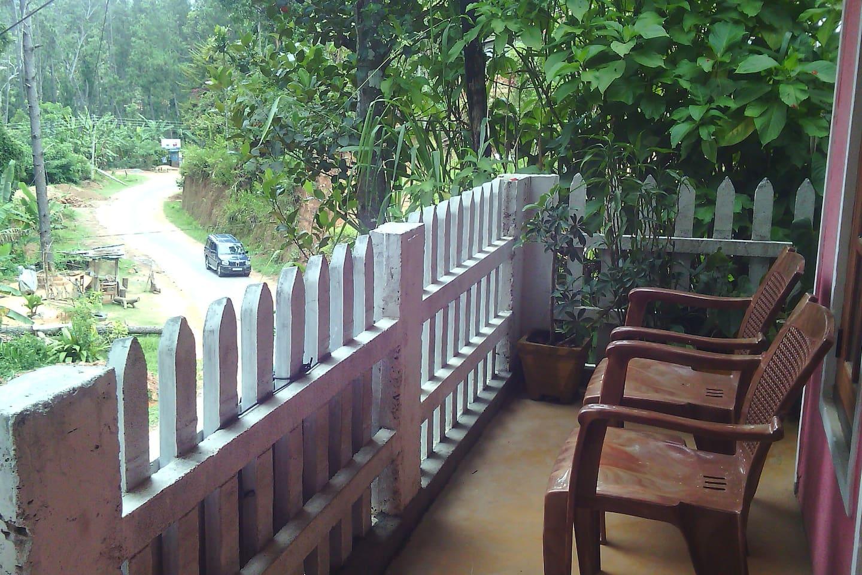 natural beauty & balcony View
