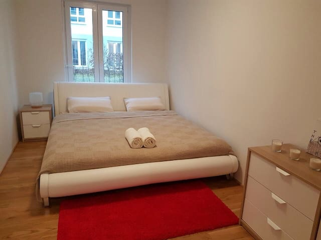 Comfortble room away from home - Frankfurt nad Menem - Apartament