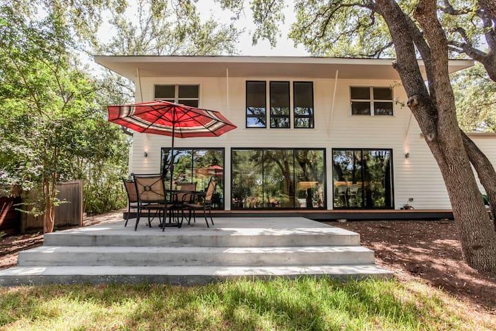 Luxury Modern home in Barton Hills - Austin - House