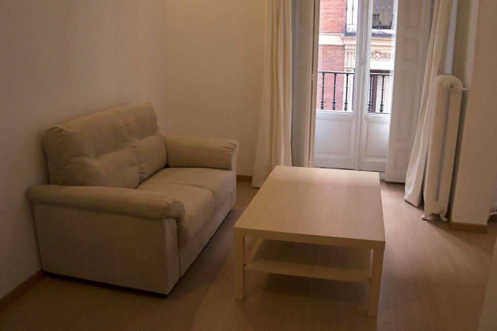 Study 2 living, 47 m2