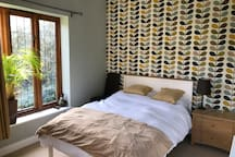 Duffield ground-floor room with a garden view