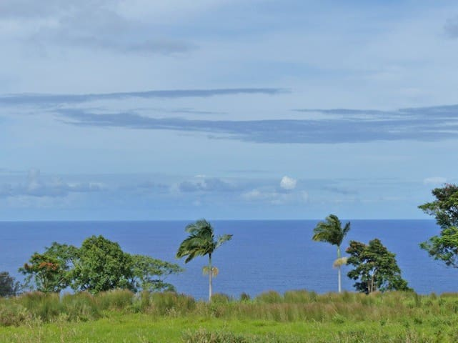 HAMAKUA COAST BEAUTY - Ocean View - Hakalau - House