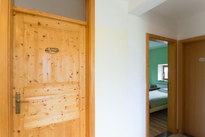 Eco green room in Robidišče