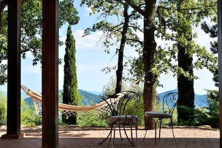 Gîte YANG, nature et  vue de rêve - Suzette - บ้าน