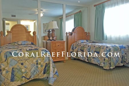 2 BED Coral Reef Beach Resort - Apartment
