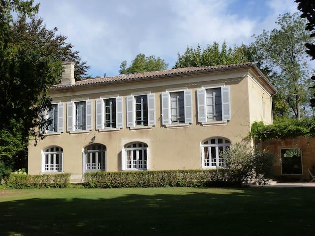 Girondine de Charme prés St EMILION - Sainte-Terre - House