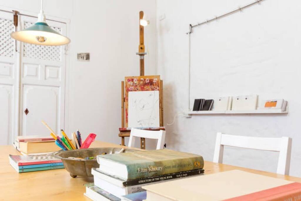 artist studio to rent