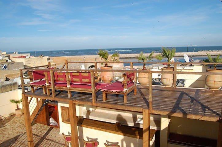 Golf et mer : ravissant Riad 17eme - El Jadida - Huis