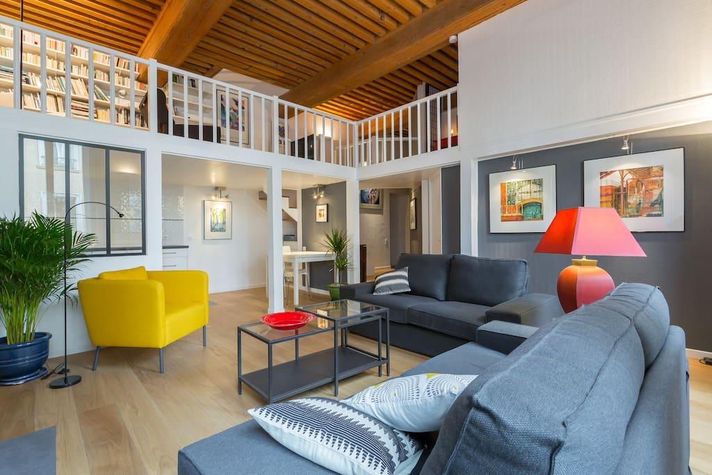 Duplex 65 m pr s du parc de la t te d 39 or garage for Garage du park mouans sartoux