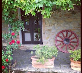 Relax in storico casale toscano - Monterotondo Marittimo - Apartamento