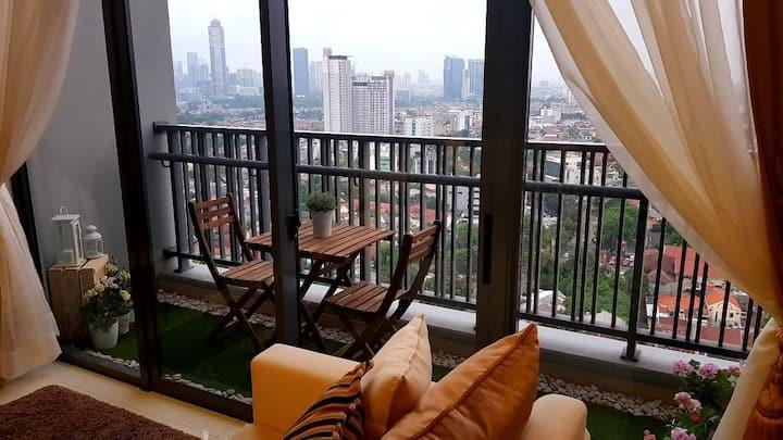 Cozy and tranquil loft w/ Netflix in Soho Pancoran