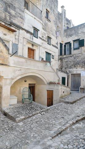tipica casa nei sassi di Matera