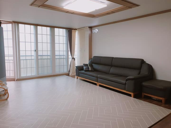 Apartment for big family group in changwon 창원아파트