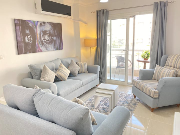 Cozy two bedroom apartment In madinaty