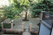 Giardino vista terrazzo