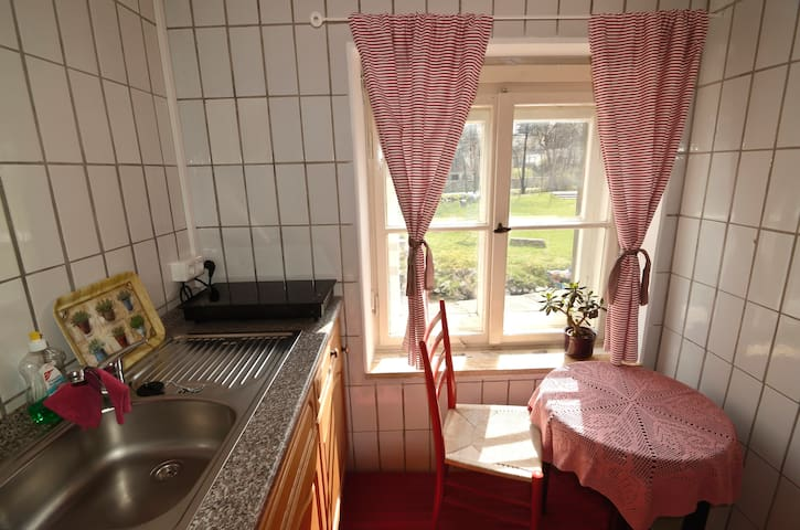 Romantisches Appartement am Fluss - Schwarzenbach - Lägenhet
