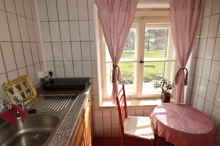Romantisches Appartement am Fluss - Appartement