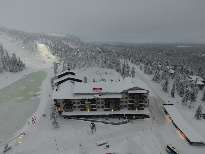 Modern condo in the heart of Ruka