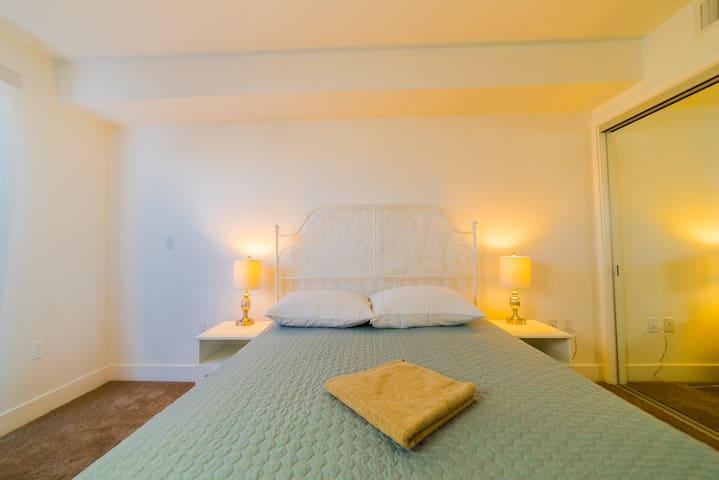 Dream master bedroom in Hollywood