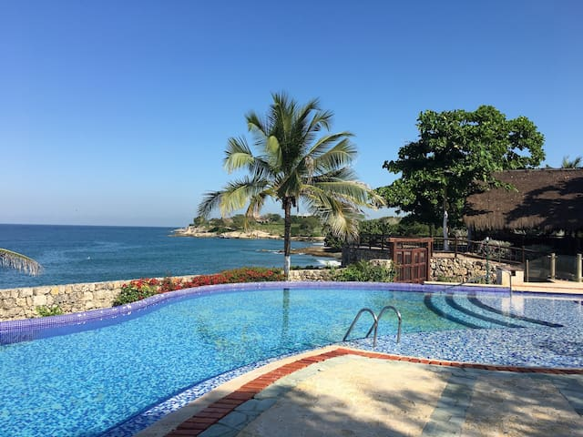 Island Beach House Amazing View - Cartagena - Vila