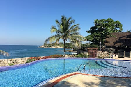 Island Beach House Amazing View - Cartagena - Casa de camp