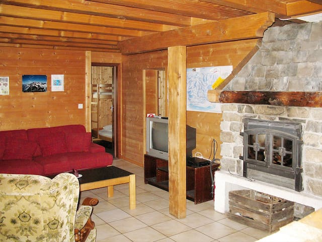 House Chalet Anthamatten in Champery - Champery - Casa