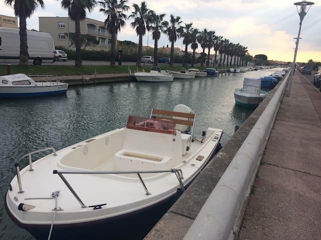 Maison au bord du canal quartier calme - Palavas-les-Flots - Maison