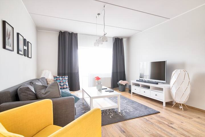 Wonderful stay at 2BR family apartment