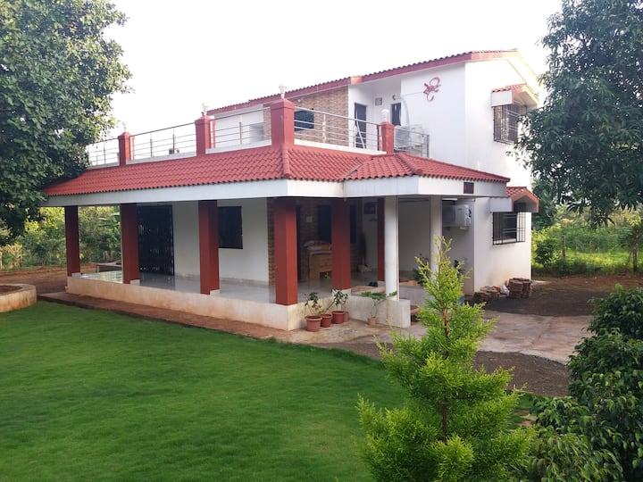 Srushti 3BHK Farmhouse, Karjat