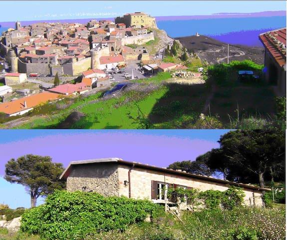 Dimora dell'aquila-Home of the Eagles - Giglio Castello - Casa de campo