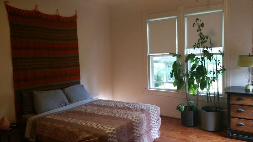 Spacious downtown mid-century room. - Bloomington - Apartment